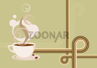 Retro Kaffee