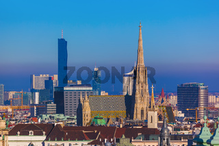Saint Stephan cathedral in Vienna Austria
