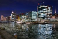 Hamburg Hafencity im Winter