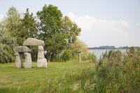 Sculpture Park By The Mündesee, Angermünde – 'Tor' by Rob Schreefel 1997, Brandenburg, Germany