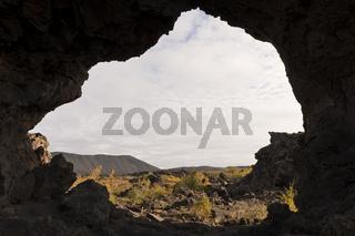 Island, bizarre Lavaformationen in Dimmuborgir
