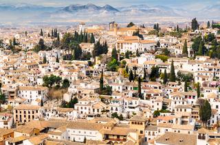 Granada view Andalucia, Espana