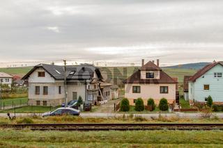Dorf-Idyll in der Slowakei