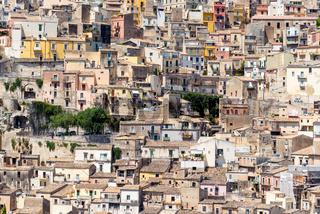 Detail der Altstadt von Ragusa