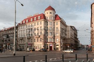 Hotel Piast in Breslau