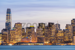 San Francisco downtown skyline