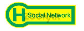 Haltestelle Social Network
