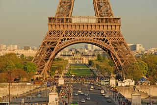 Eiffelturm unterer Teil