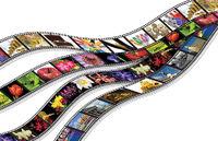 film streifen - isoliert