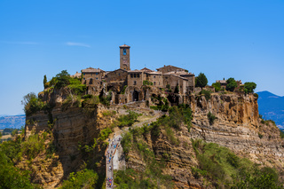 Village Civita di Bagnoregio in Italy