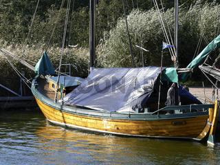 Zeesboote auf Fischland-Darß