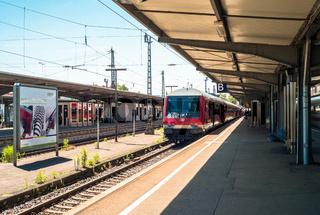 Schwarzwaldbahn in Offenburg