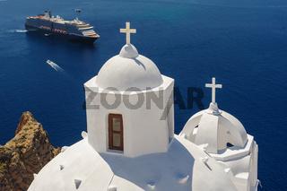 Church in Fira, Santorini