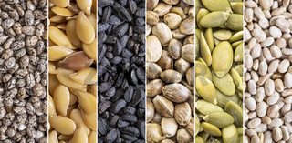 healthy seeds collection