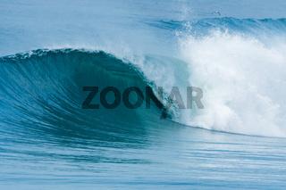 Atlantic waves in Portugal