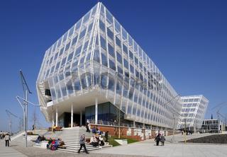 Moderne Architektur in der Hafencity Hamburg