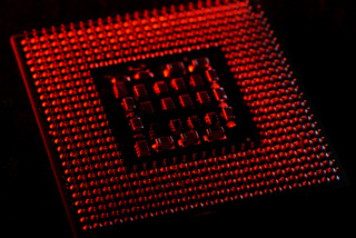 cpu closeup for pc and laptop