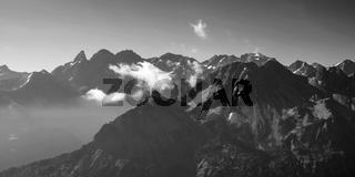 Hauptkamm der Allgäuer Alpen