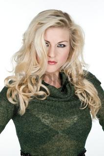 blonde sexy Frau