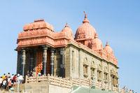 Swami Vivekananda Rock Memorial - a famous tourist monument in Vavathurai, Kanyakumari, India