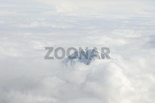 Bergspitze in den Anden