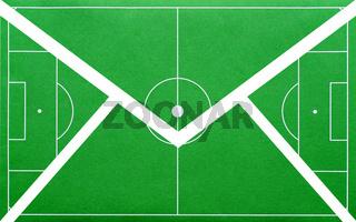 Fußball Botschaft - Briefumschlag