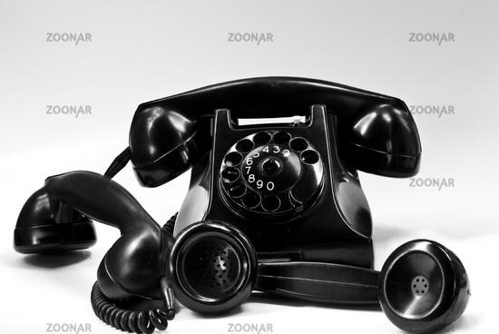 Telefon mit Hörer