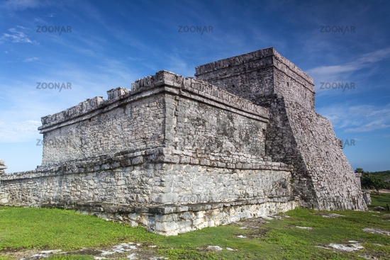 Maya-Ruinen in Tulum Mexiko