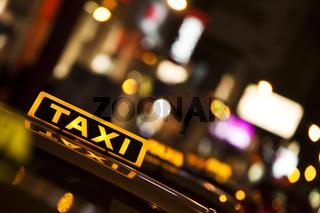 Taxis in der Wiener Innenstadt / taxis in the Vienna city centre