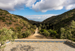 Wrigley memorial and botanic gardens on Catalina Island