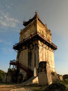 Ava masonry watchtower