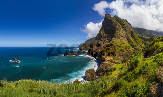 Coast near Boaventura - Madeira Portugal