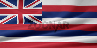 Flagge von Hawaii - USA