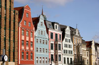 Rostocker Altstadt mit Einkaufsstraße Kröpeliner S