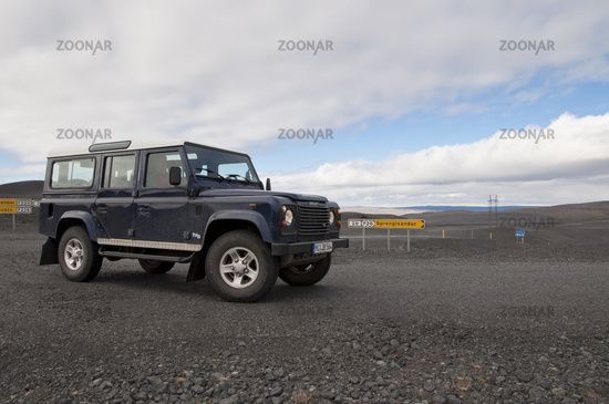 Island, Unterwegs auf der Sprengisandur