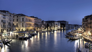 Blue hour Canale Grande