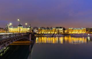 Lyon University bridge France