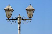 Lanterns against the sky.