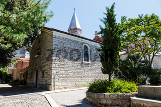 Small Church in the Resort of Opatija, Kvarner, Croatia