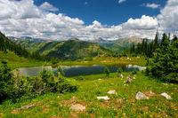 Hanging Lake At High Altitude
