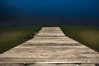 Boardwalk in to Lagoon