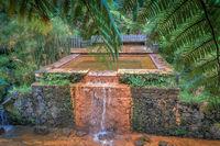 hot spring pool at parque dona beija