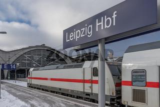 Leipzig, Deutschland, Intercity 2 mit BR 146