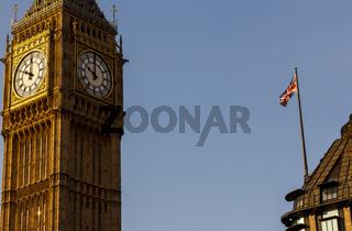 Big Ben - Sehenswürdigkeit in London, Großbritannien