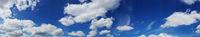 Schäfchen Wolken am Himmel
