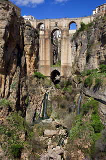 Ronda Bridge in Spain