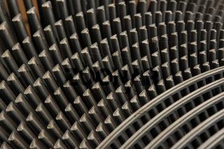 Turbinenblätter einer Dampfturbine