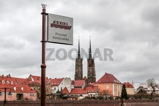Stadtansicht von Breslau