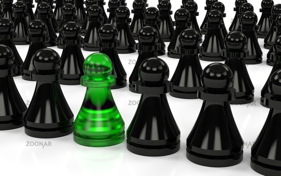 The group of pawns.