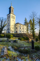 Kirche in Neutornow bei Bad Freienwalde, Brandenburg, Deutschland